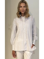 STRIPED LONG COTTON SHIRT