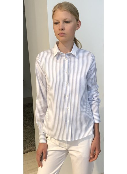 STRIPES LONG COTTON SHIRT