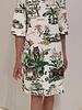 PRINTED COTTON DRESS: SAFARI