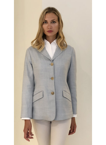 WOOL-SILK-LINEN JACKET
