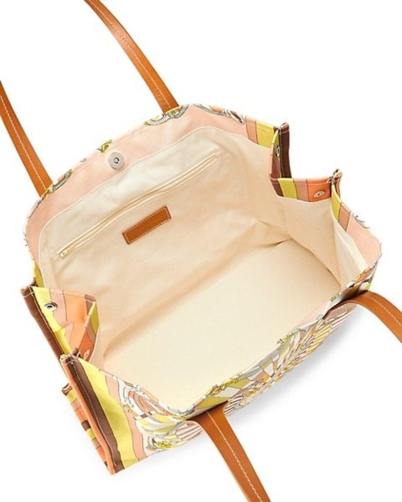 PRINTED SMALL BAG: FIRENZE: MELON