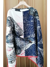 SILK SCARF PRINT REVERSIBLE TOP