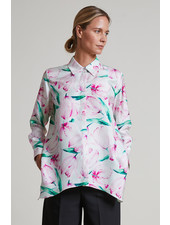 SILK PRINTED SHIRT