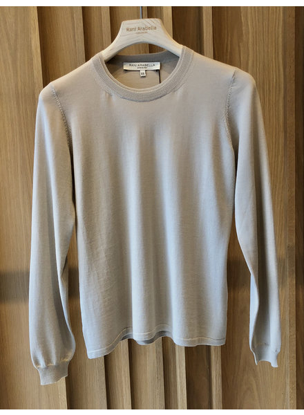 SUPERFINE LIGHT WEIGHT CREW SWEATER