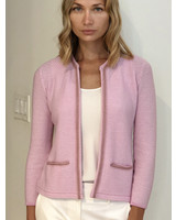 CASHMERE SHORT EMBELLISHED JACKET