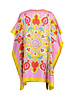 DOUBLE SILK DRESS: TOY HORSES - SAVOIA: CANDY