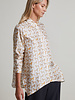 SILK PRINTED SHIRT: POODLE: IVORY