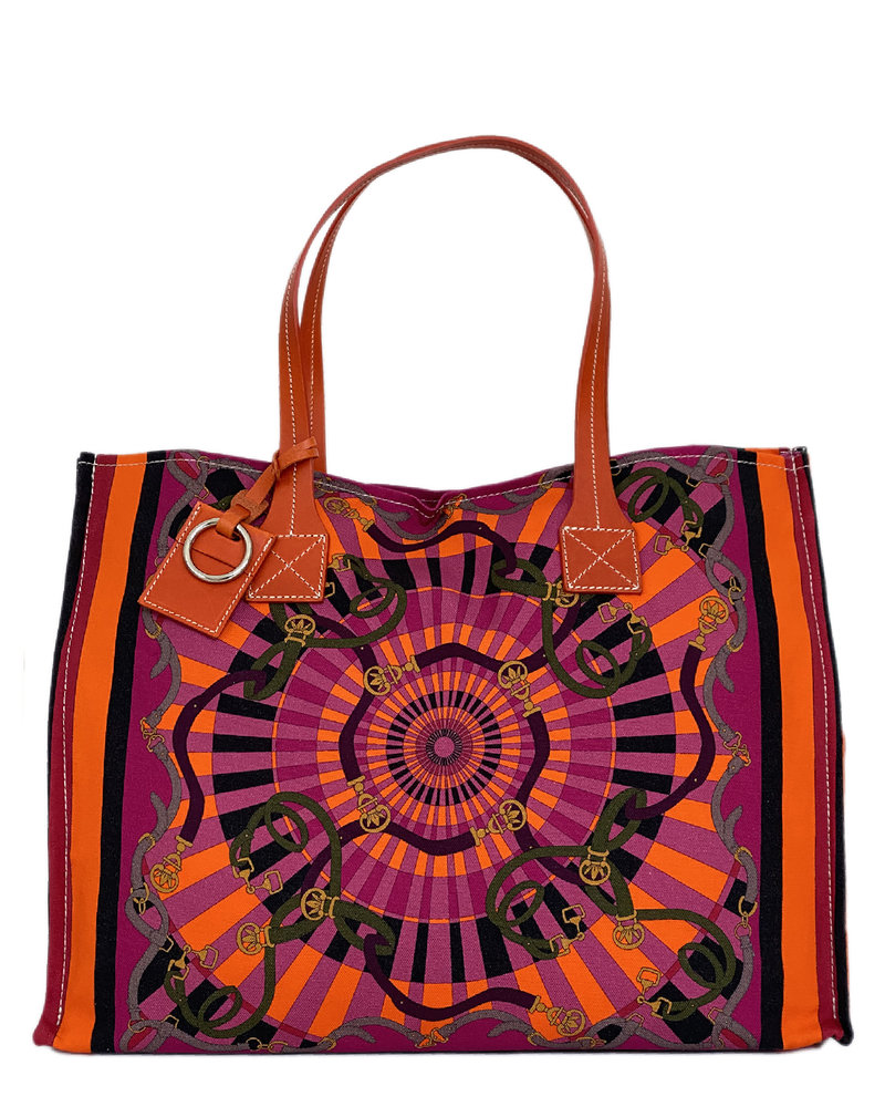 PRINTED SMALL BAG: FIRENZE: BERRY