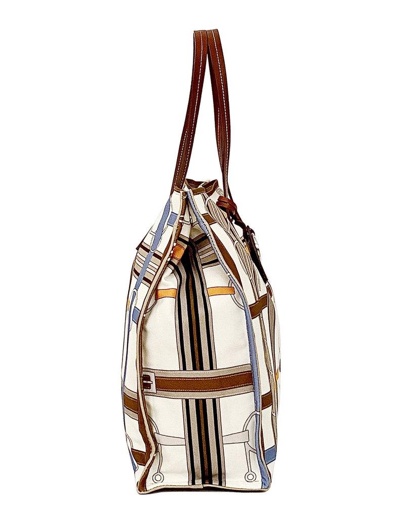 PRINTED SMALL BAG: SIENA: BEIGE