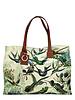 PRINTED SMALL BAG: HUMMING BIRD: GREEN