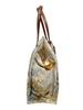 PRINTED SMALL BAG: HUMMING BIRD: ORANGE-BLUE