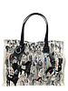 PRINTED SMALL BAG: AFTER THE RACE: BLUE