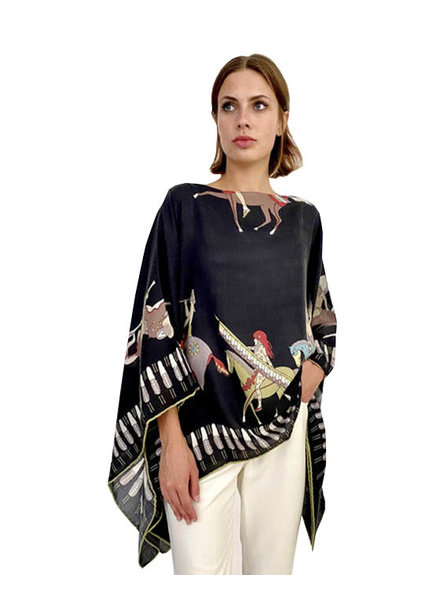AMERICAN INDIAN PONCHO