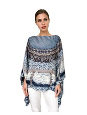 FEATHERS PONCHO