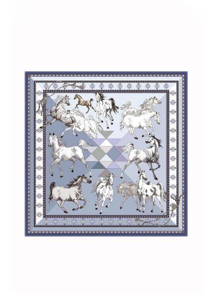 AZTEC HORSES SHAWL