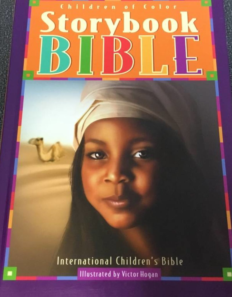 Urban Spirit Publishing Co Children Of Color Storybook Bible-ICB (Girls Cover)