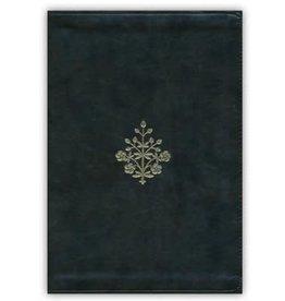 ESV Large Print Bible, Olive, Branch Design, Imitation Leather