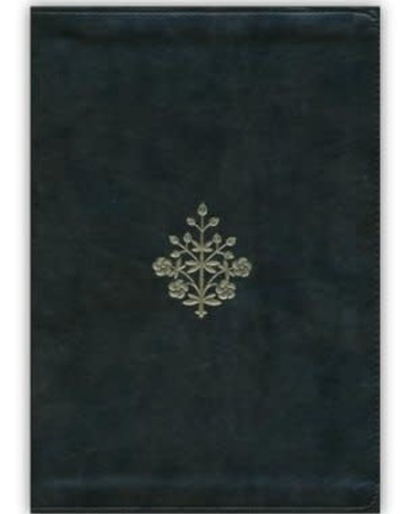 ESV Large Print Bible, Olive, Branch Design, Imitation Leather
