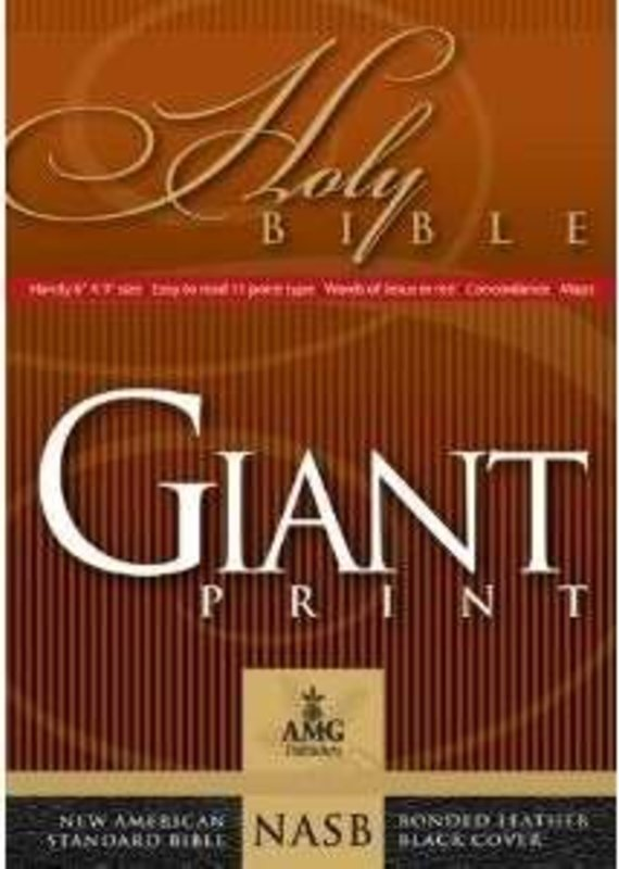 AMG Publishers NASB Giant Print Handy Size Bible