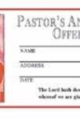 R H Boyd Publish Offering Envelope - Pastor's Anniversary Offering (Pack Of 500)