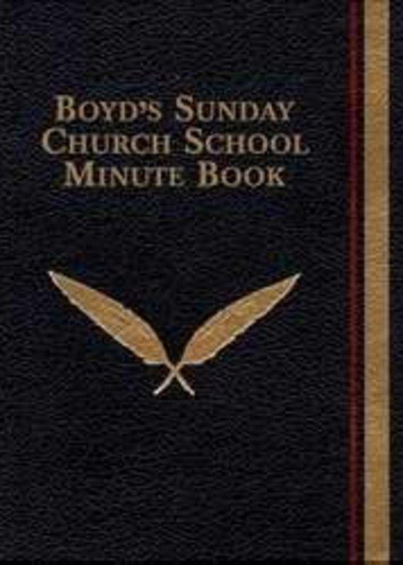 R H Boyd Publish Boyd's Sunday Church School Minute Book