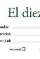 B & H Publishing Tither Spanish- El Diezmo