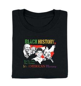 Tee Shirt - Black History - Adult - XL