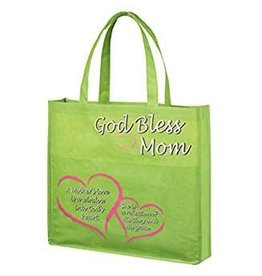 Autom Tote w/pocket God Bless Mom