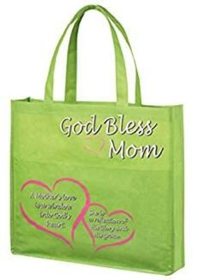 Autom Tote w/pocket God Bless Mom
