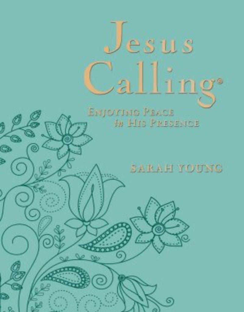 Jesus Calling Deluxe Print Teal