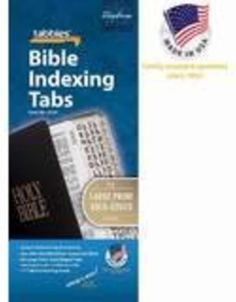 Tabbies Bible Tabs Large Print Gold Edge