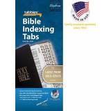 Bible Tabs Large Print Gold Edge