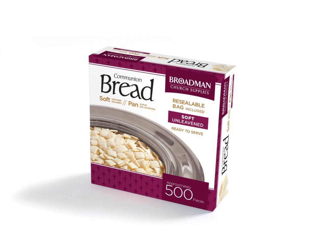 Communion-Bread Soft (Unleavened) (Pack Of 500)