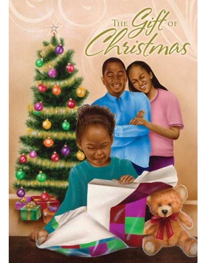 African American Expressions AA Expression The Gift of Christmas - Box Card