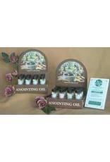 Anointing Oil-Frankincense & Myrrh-1/4oz (Pack of 12 w/4 Free)