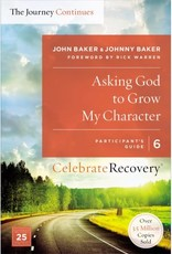 Zondervan Asking God To Grow My Character Participant's Guide 6