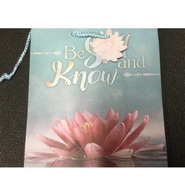 BE STILL AND KNOW GIFT BAG WITH TAG