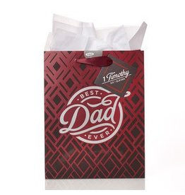 Best Dad Ever Medium Gift Bag
