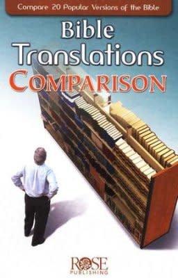 Bible Translations Comparison, Pamphlet