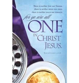 Bulletin-Communion-One In Christ Jesus (Pack Of 100)