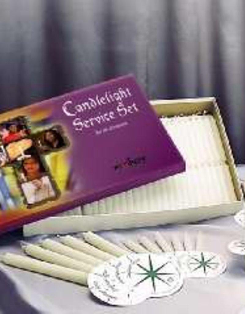 Candlelight service set 125