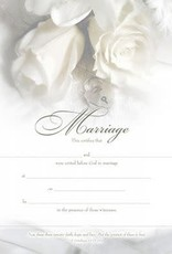 Certificate of Marriage (single)