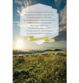 "Broadman Church Bulletin 11"" - Inspirational - Praise - Psalm 23 (Pack of 100)"