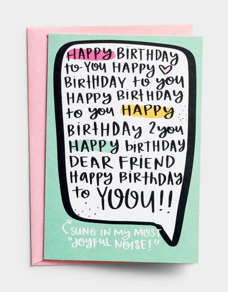 Dayspring - Shanna Noel Cards - Joyful Birthday