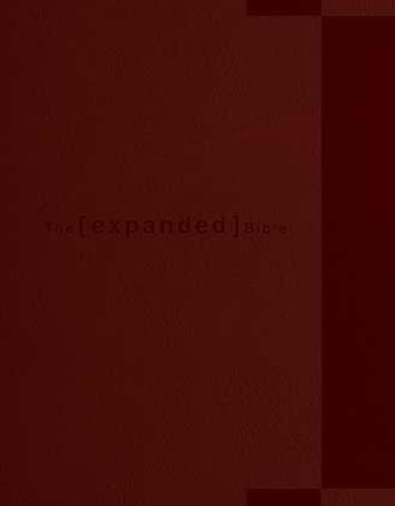 Expanded Study Bible Chestnut Leathersoft