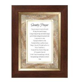 Faithworks Framed Tabletop - Serenity Prayer