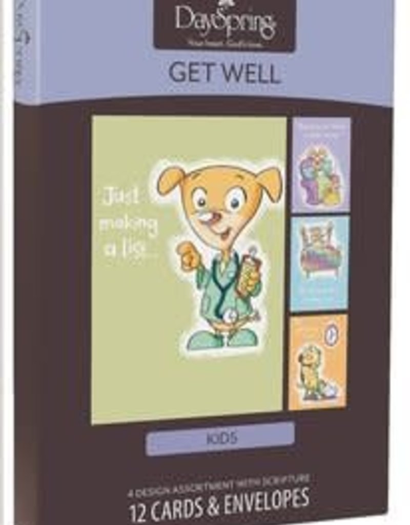 Get Well - Boxed Card