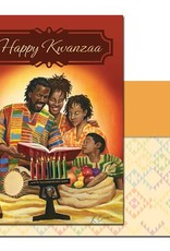 African American Expressions Happy Kwanzaa -Box Card