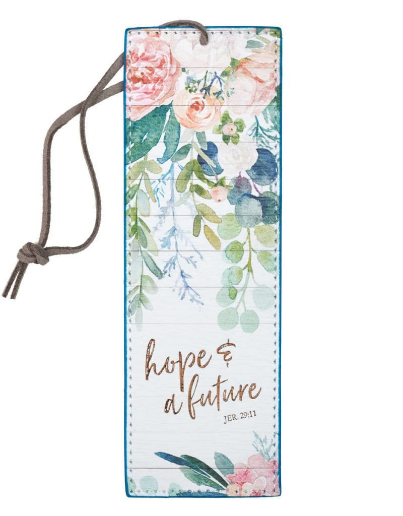 Hope and Future LuxLeather Pagemarker - Jeremiah 29:11