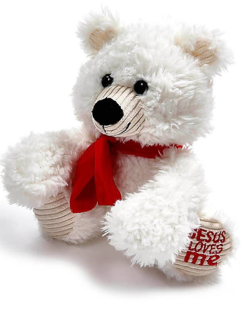 Jesus Loves Me - Polar Bear Plush Toy